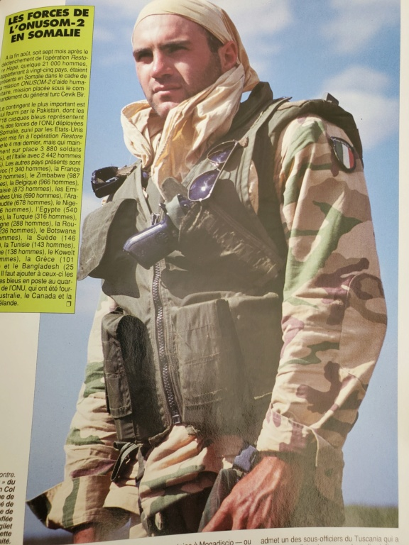 Italian Gear used in Somalia - Operation IBIS 1992-1994. 20200411