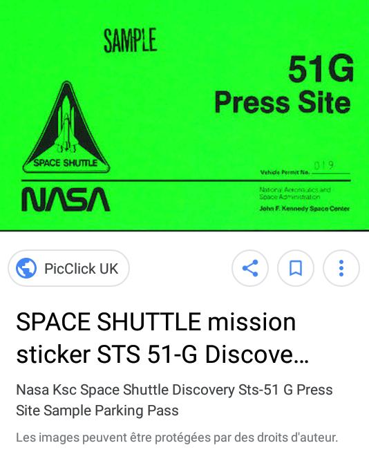Dénomination des missions de la navette spatiale de 1984 à 1986 2018-012