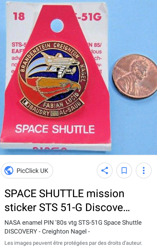 Dénomination des missions de la navette spatiale de 1984 à 1986 2018-013