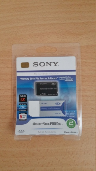 VDS Memory Stick Pro Duo 2go pour Sony Psp  20180610