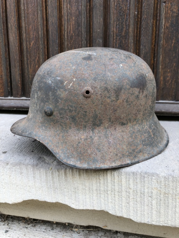 Casque allemand 1942 insigne Heer 2c60b210