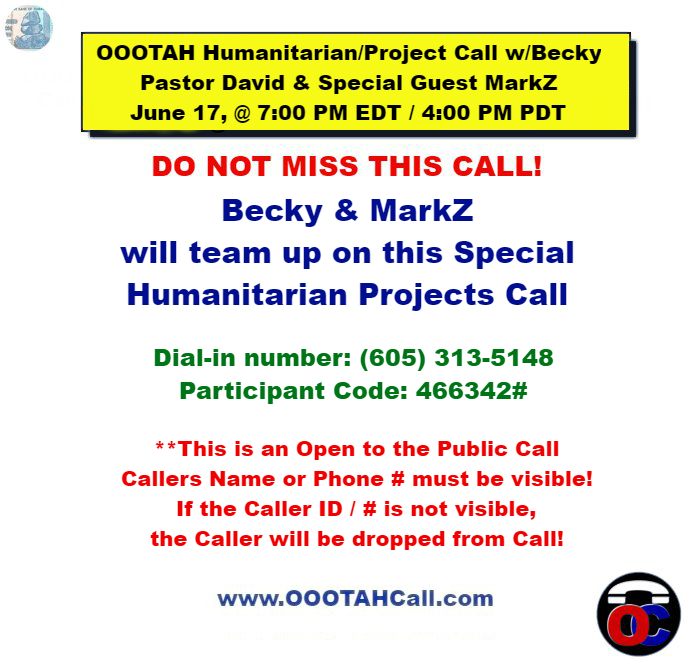 Becky McGee/Oootah Scam-A-Thon Continues With Special Guest MarkZ! 6/17/19 Oootah19