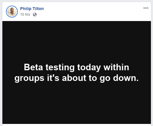 """Philip Tilton """"It's About To Go Down"""" 4/12/19 Scree279"""