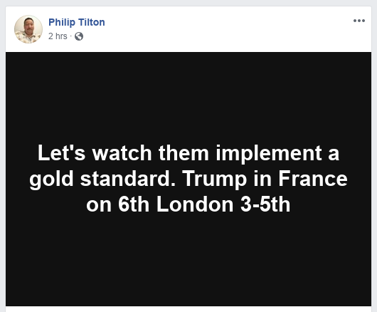 "Philip Tilton: ""Let's watch them implement a gold standard"" 4/29/19 Scree290"