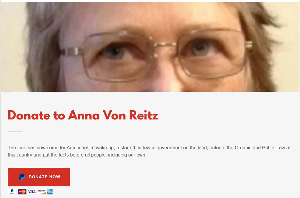 Anna Von Reitz Joins The MarkZ Scam Call 2 PM EST! 10/22/19 Scree429