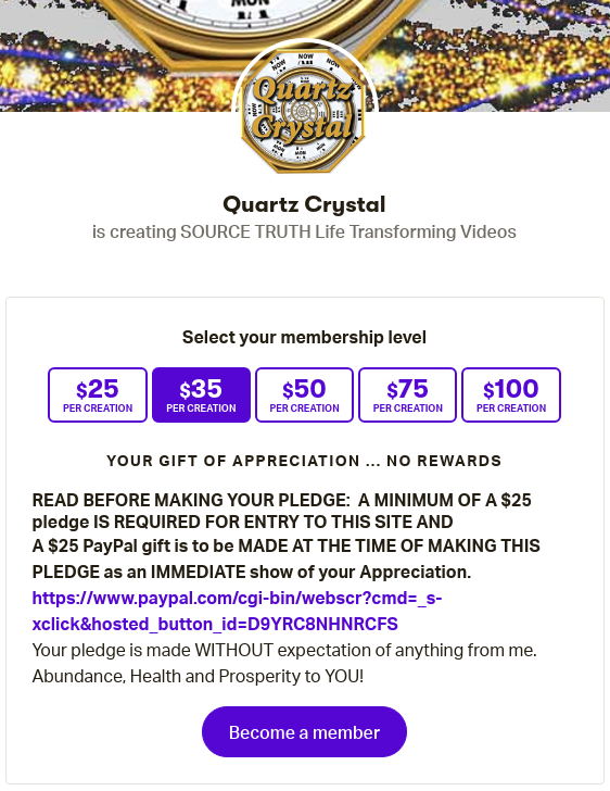 SCAMMER ALERT! - Judy aka Quartz Crystal the Source Player is PLAYING You for DONATIONS! - PLUS A CULT MEMBER CONVERSATION - Page 2 Scree432