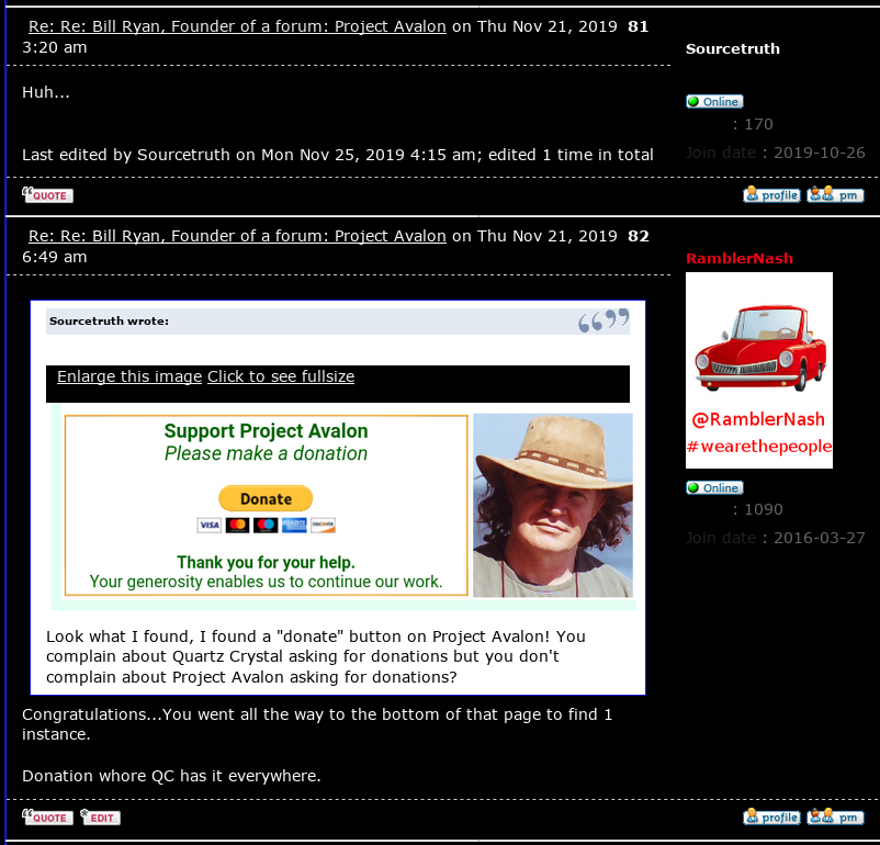 SCAMMER ALERT! - Judy aka Quartz Crystal the Source Player is PLAYING You for DONATIONS! - PLUS A CULT MEMBER CONVERSATION - Page 11 Scree460