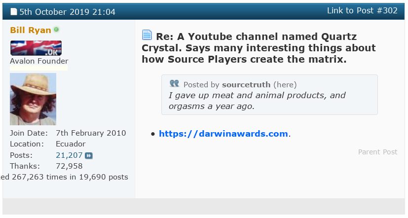 "Bill Ryan of Project Avalon - Debate Challenge! A Quartz Crystal Minion ""Sourcetruth"" Cult Failure! - Page 8 Scree464"