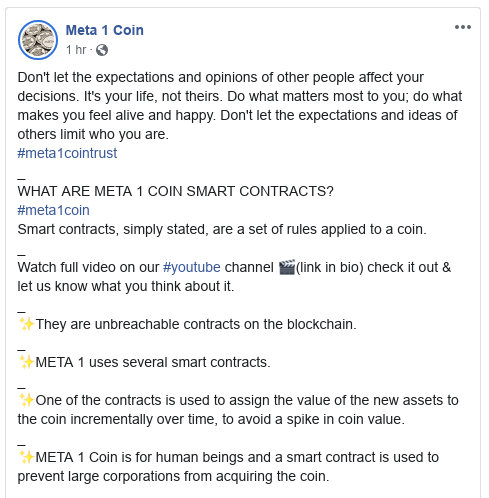 Dave Schmidt (Meta 1 Coin) - SEC Serves Paperwork - Will They Provoke The Judge? Scree556