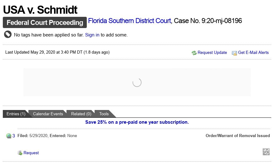 Dave Schmidt (Meta 1 Coin Scam) Traveling Orders To See The Judge In Shiny Bracelets! Scree563