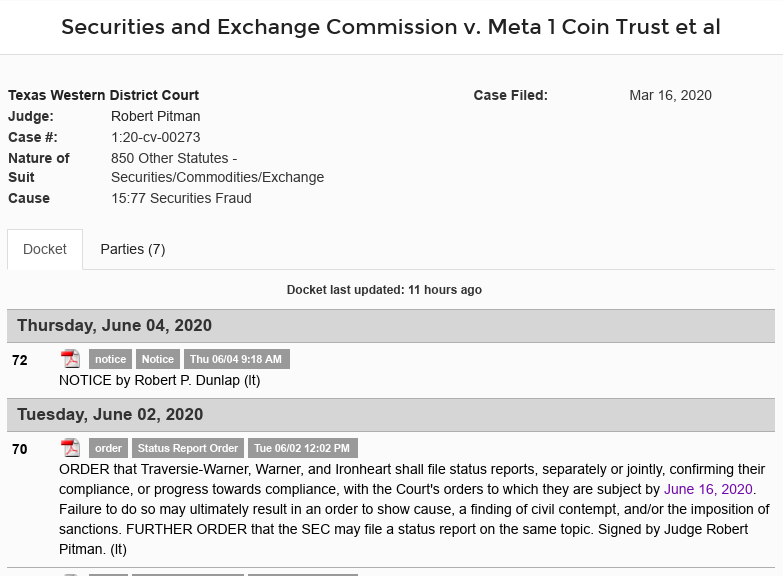 Meta 1 Coin Has Crack Team Of Lawyers? Why Is Dave Schmidt Still Rotting In Jail? Scree573