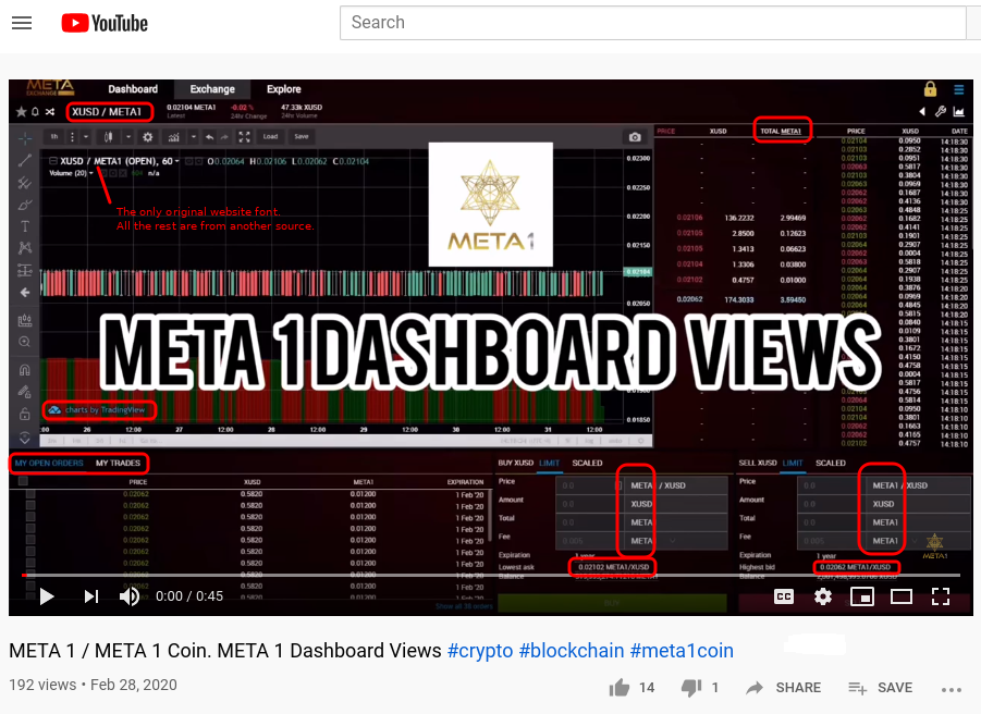Marianne O'Malley (Meta 1 Coin Scam) Meta Exchange Website Faked! Scree614