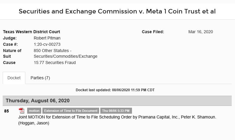 Dave Schmidt - Booby Dunlap Meta 1 Coin Legal threats Scree623