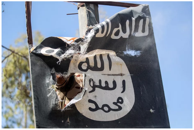 "The Pentagon says ISIS is ""well-positioned"" to make a comeback Screen74"