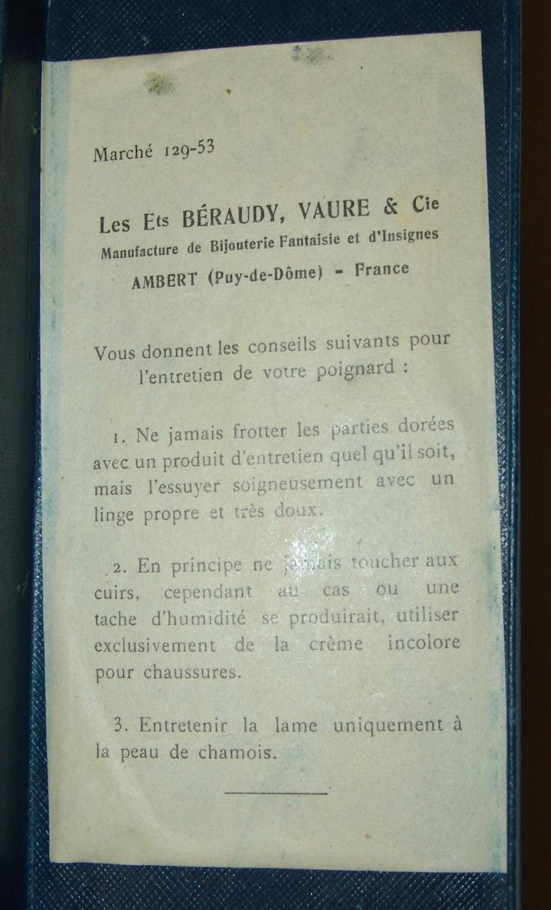 Dague  de l'armée d'air  Française Mdl 1934 - Page 2 Dsc00070