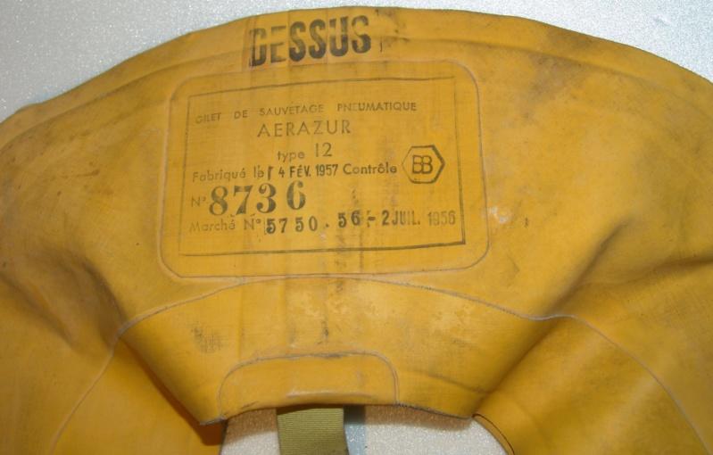 Aviation : le gilet de sauvetage Aviorex et Aérazur type 12 Dsc09627