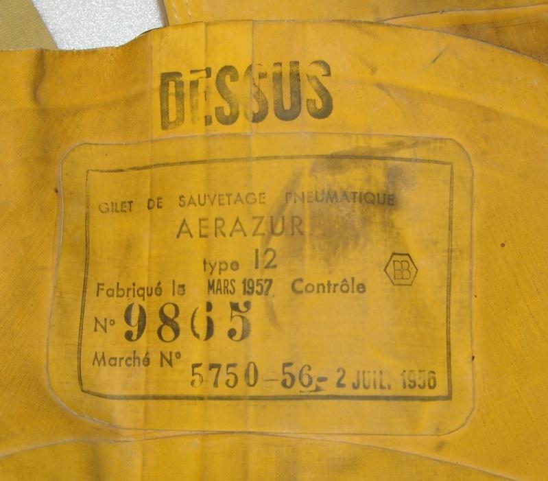 Aviation : le gilet de sauvetage Aviorex et Aérazur type 12 Dsc09631