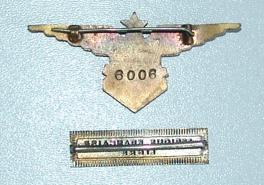 Papier d'un officier ancien FAFL (aviation-armée de l'air) Dsc09824