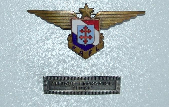 Papier d'un officier ancien FAFL (aviation-armée de l'air) Dsc09825