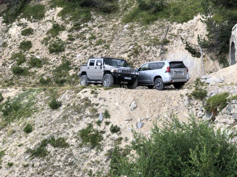 Ballade dans les Alpes Italiennes autour de Sauze d'Oulx en Hummer 1bbc3f10