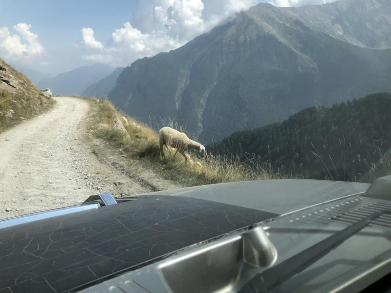 Ballade dans les Alpes Italiennes autour de Sauze d'Oulx en Hummer 3f31f810