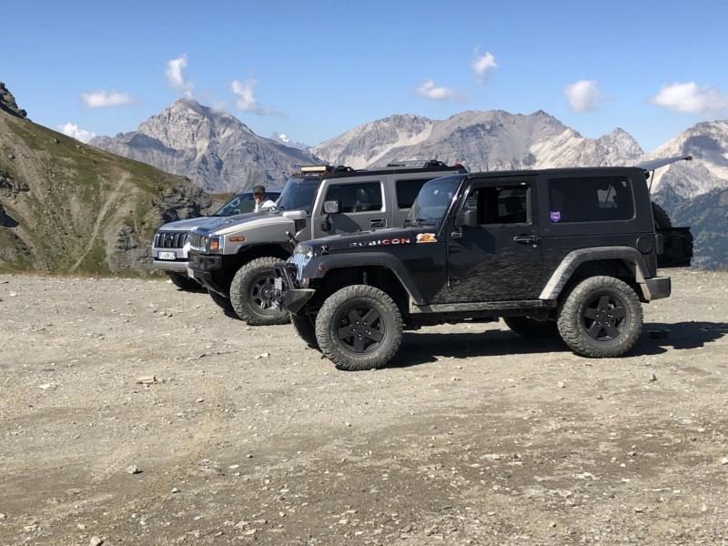 Ballade dans les Alpes Italiennes autour de Sauze d'Oulx en Hummer 444ce510