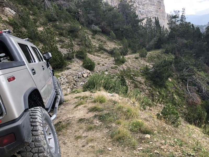 Ballade dans les Alpes Italiennes autour de Sauze d'Oulx en Hummer 52891d10