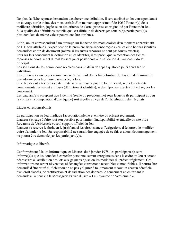 Règlement de la chasse Reglem11