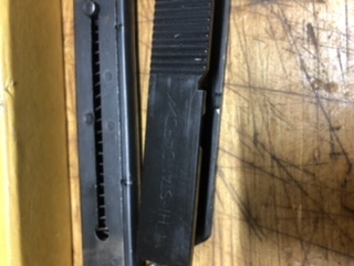 Sold High Standard Supermatic Short Slide and mag 3833a410