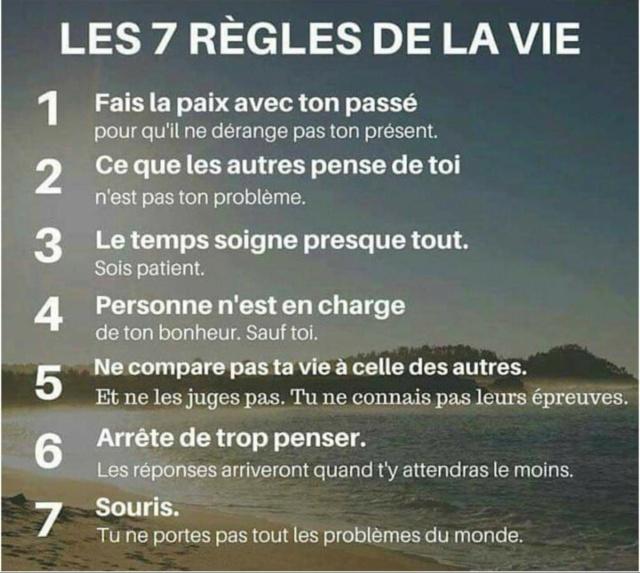 7 règles de la vie 12222711