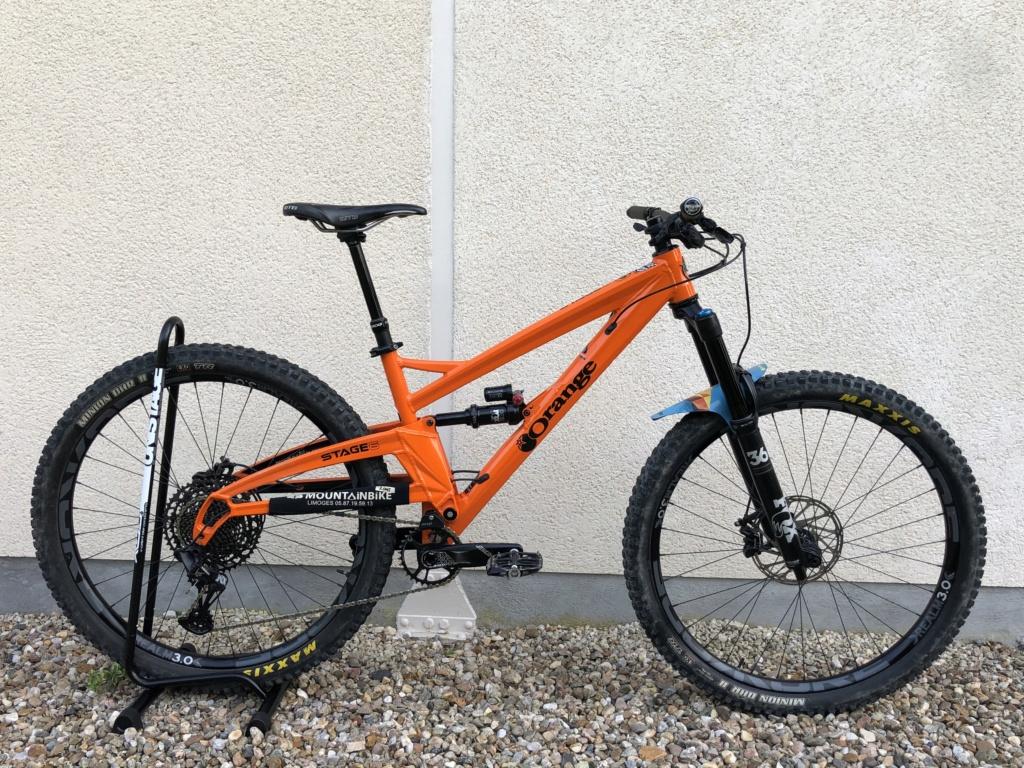 A Vendre : VTT Enduro Orange Bikes Stage 6 2019 Img_0910