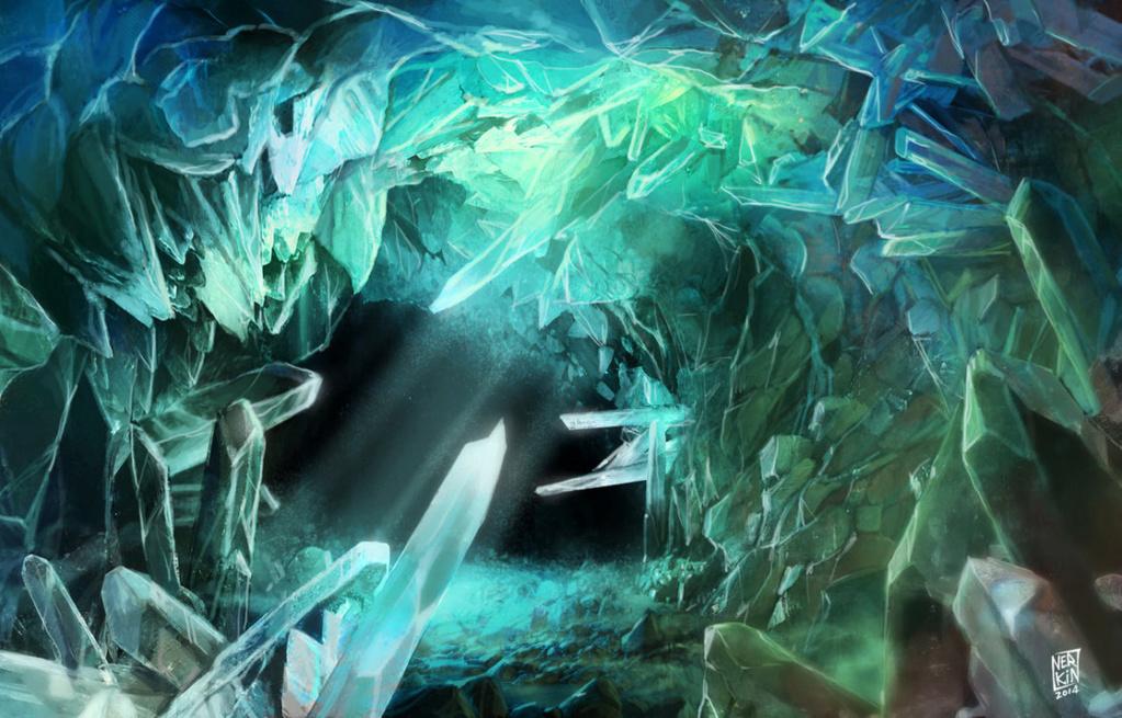 ▽ La caverne crystaline ▽ Crysta11