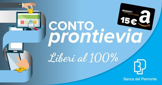 APERTURA CONTO PRONTI E VIA (BANCA DEL PIEMONTE) 52753710