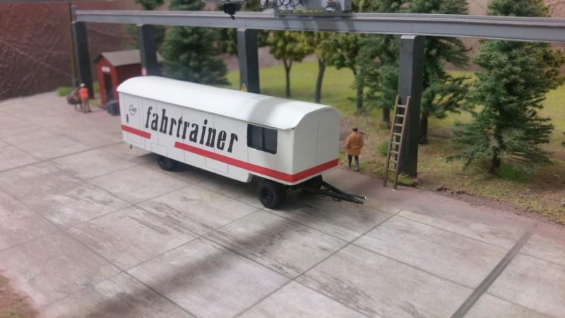 Anhänger Fahrtrainer  20180916