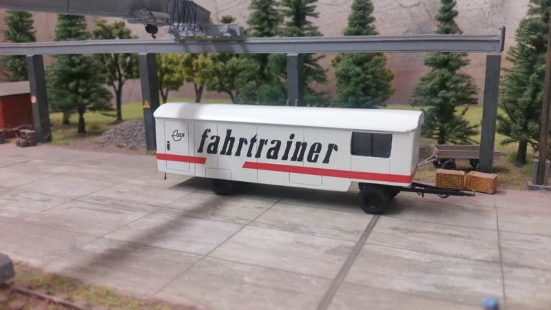 Anhänger Fahrtrainer  20180917