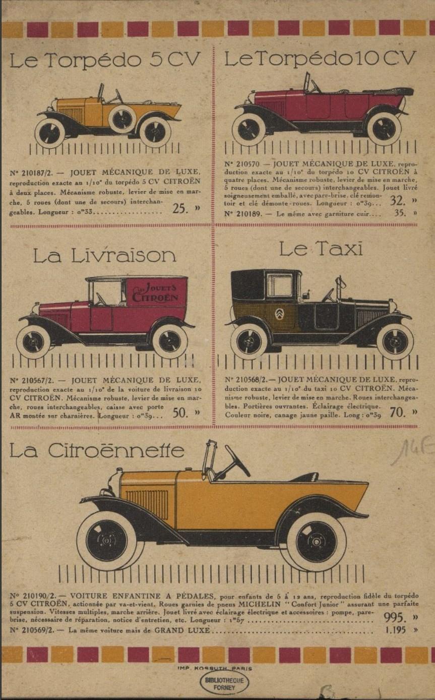 Les JOUETS CITROËN - Page 3 2660