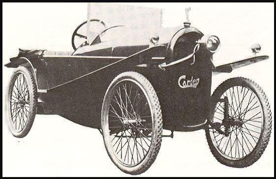 Carden Cyclecar 3167
