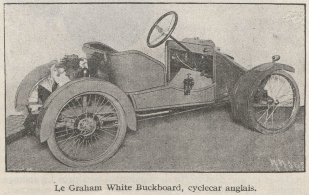 Grahame-White cyclecar Export74