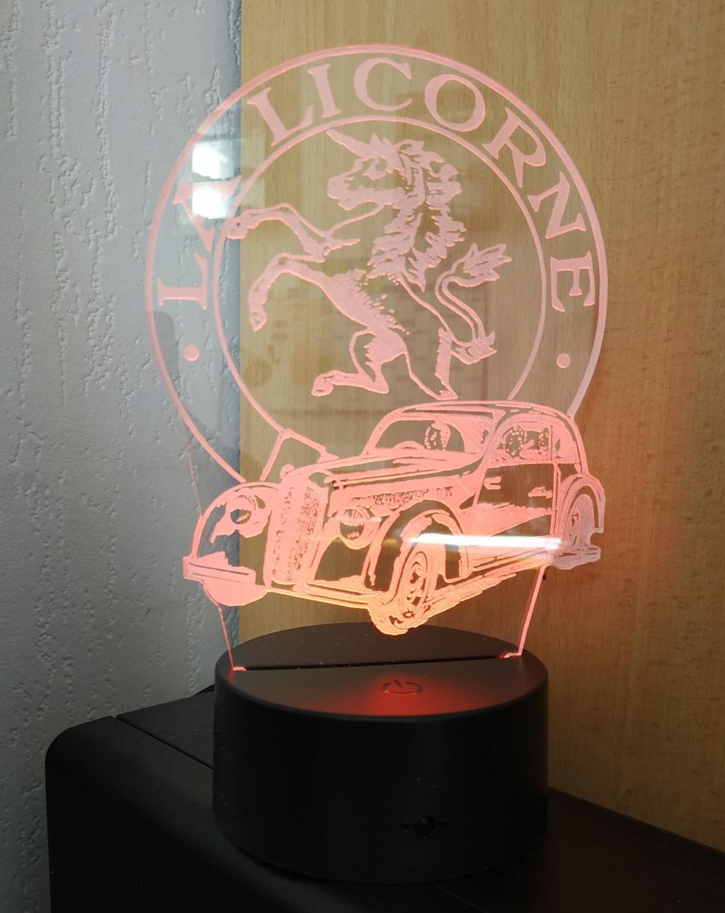 Lampe décorative multicolore Img_2097