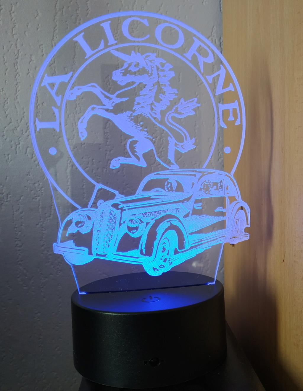 Lampe décorative multicolore Img_2099