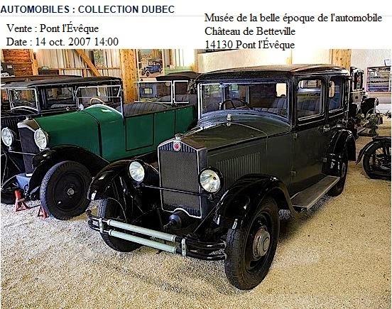 Musée de la belle époque automobile 14 Pont l'Evêque Licorn13