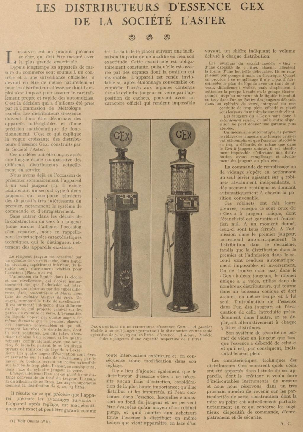 un petit Musée privé sur le thème des vieilles pompes à essence - Page 3 Omnia_11