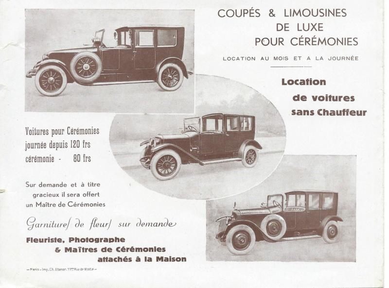 """Pochette """"VOITURES pour MARIAGES"""" Voitur13"""