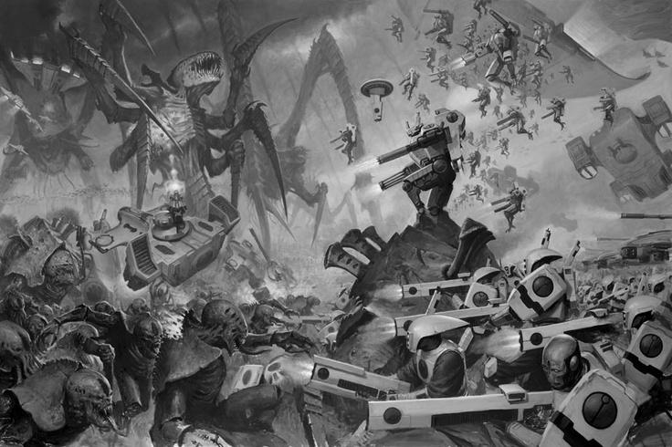 Partie du samedi 15 décembre : Warhammer 40k  26fd4f10