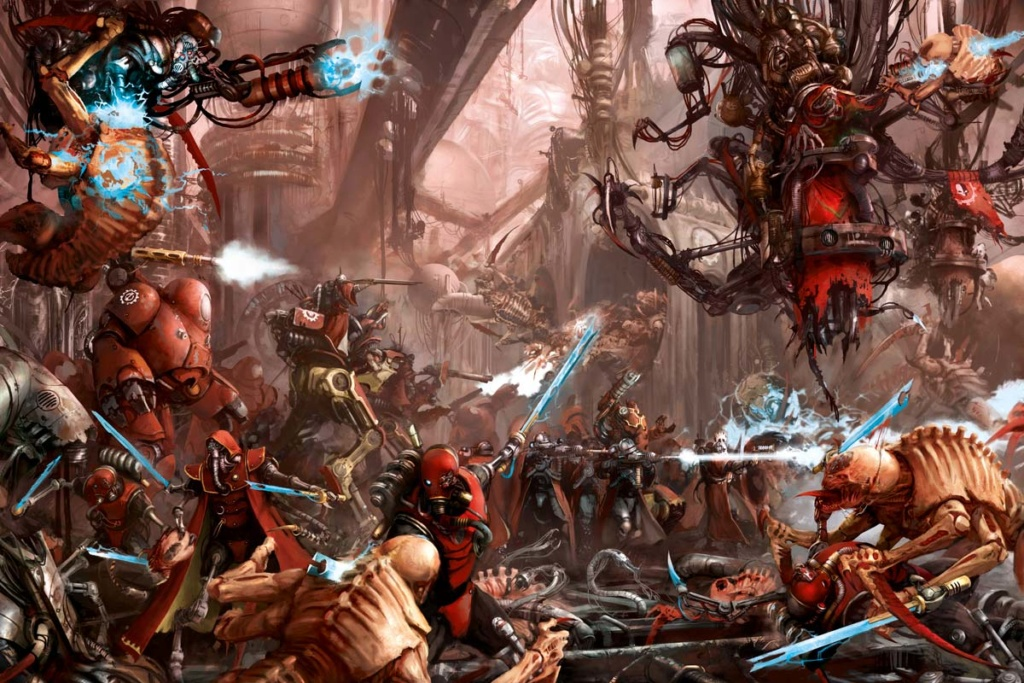 Partie du samedi 15 décembre : Warhammer 40k  The-ad10