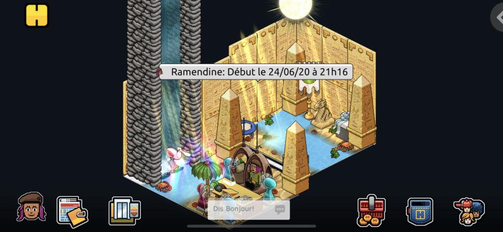 [C.M] Rapport de patrouilles de Ramendine C0169610