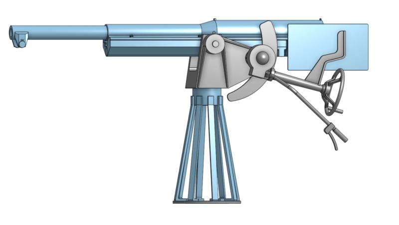 Sous-marin Montgolfier   Canon_12