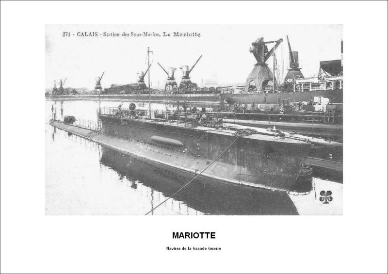 sous marin MARIOTTE de 1911 Mariot11