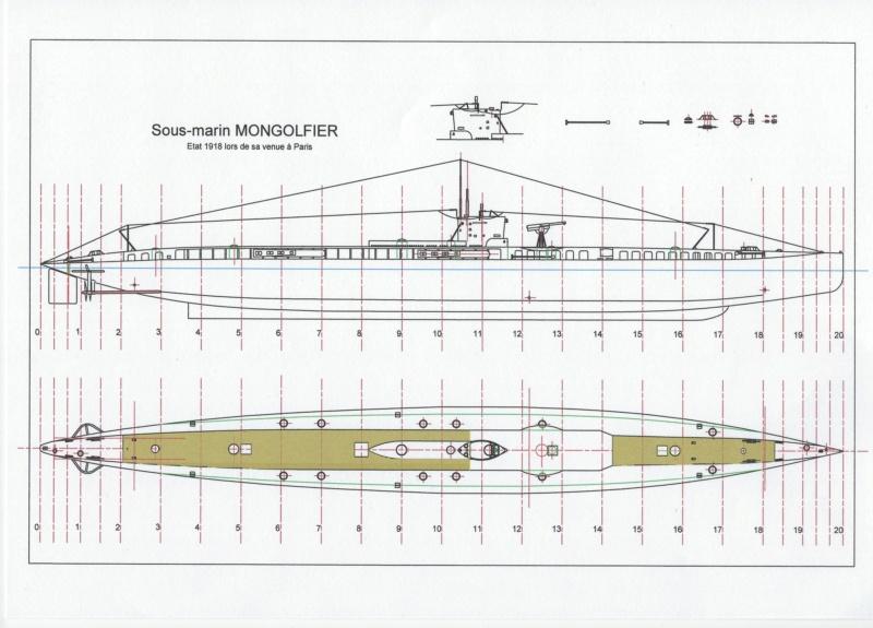 Sous-marin Montgolfier   Plan_d11