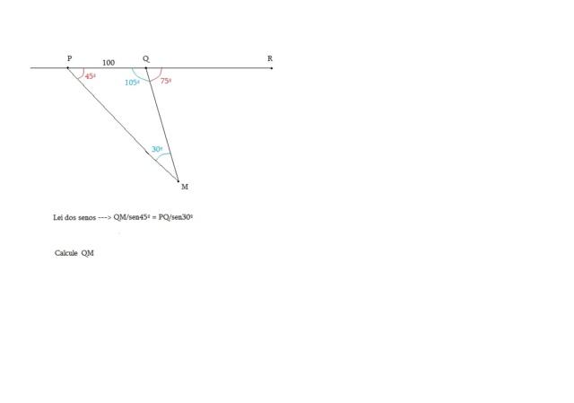 Questão sobre trigonometria no triângulo qualquer Ciclis10